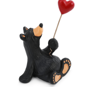 Bear with Heart Ballon