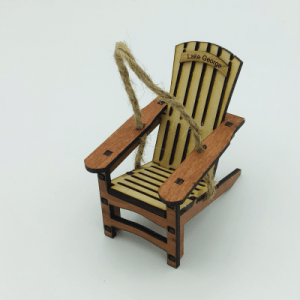 Natural lake George chair