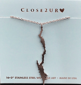 Lake George Stainless Steel necklace