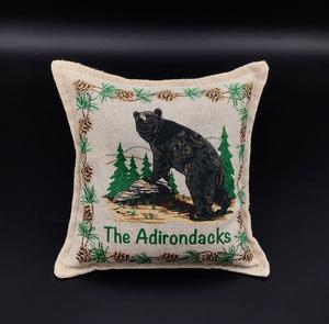 Bear pillow withs Adks