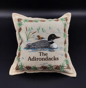 ADKS loon pillow