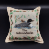ADKS loon pillow