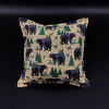 bear print pillow