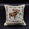 "moose Pattern Pillow 6"" x 6"""