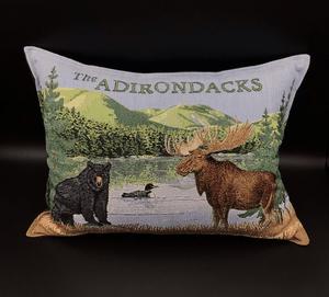 Adirondacks Tapestry large pillow