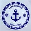 Lake George NY Anchor decal
