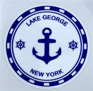 Lake George NY Anchor decal