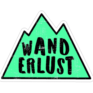 Wanderlust decal