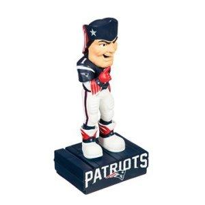 Patriots mascot statue
