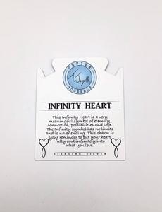 Tjazelle Infinity Heart Charm