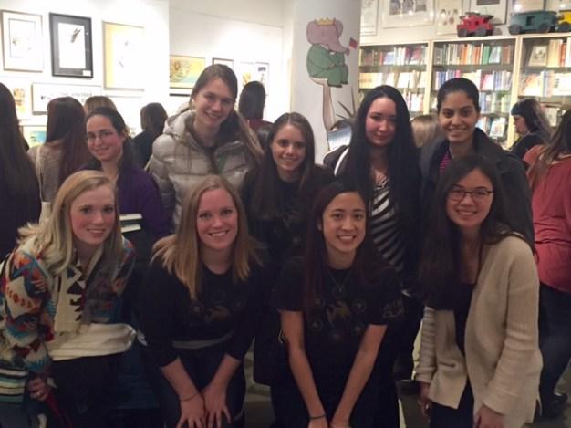 Top L-R: Penny, Jana, Danielle, Brittany, Mariam Bottom L-R: Heather, Kelly, Melissa, Alexandra