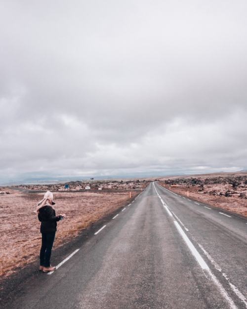 Hitchhiking in Iceland on the Snaefellsnes Peninsula. Get a full Iceland road trip itinerary for Ring Road in the summer here.