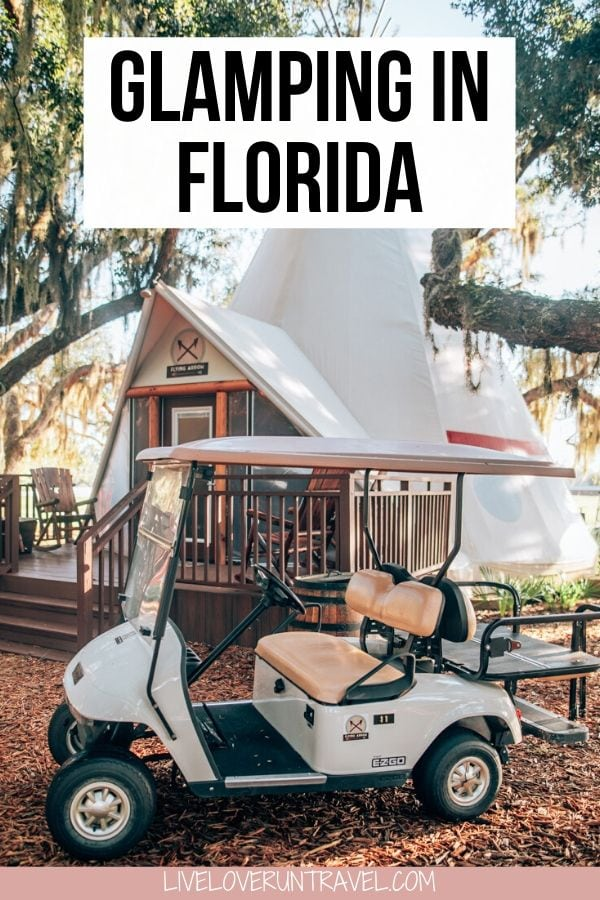 Where to go glamping in Florida at a Florida dude ranch