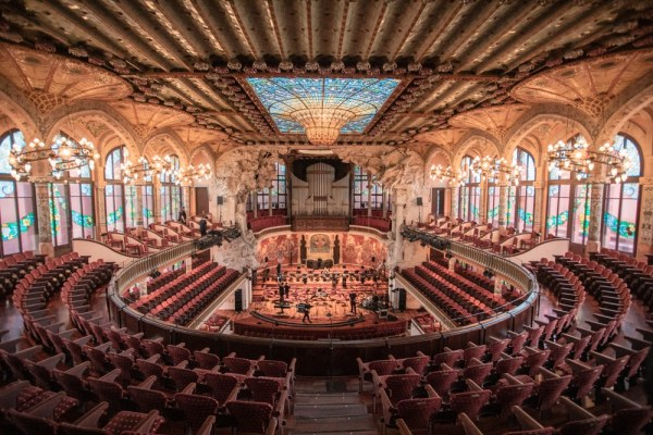 Palau de la Musica in Barcelona is a must. You can take a tour or tour it on your own if you go at the right time. Make sure to get tickets early. Get our full guide to Barcelona and 3 day itinerary here.