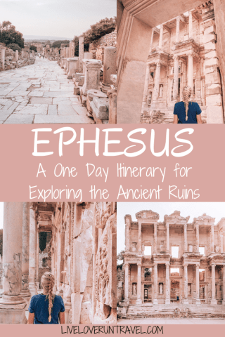 Wandering the streets of Ephesus and seeing the Library of Celsus is not to be missed when visiting Turkey. Find a full one day itinerary with everything you need to know about visiting the ancient ruins of Ephesus in Turkey here.