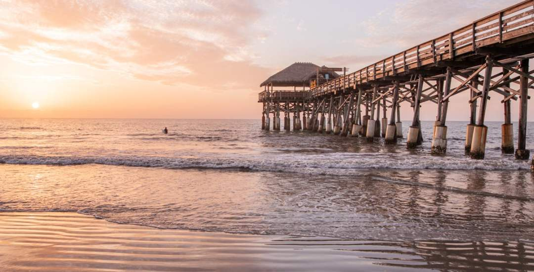 Westgate Cocoa Beach Pier at sunrise is the perfect spot for photos. Find out more about all that Cocoa Beach has to offer here!