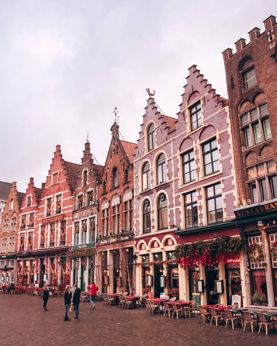 Markt in Bruges, Belgium