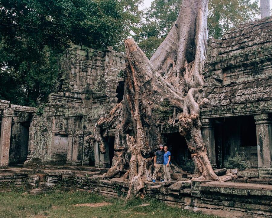 Preah Khan temple in Siem Reap, Cambodia