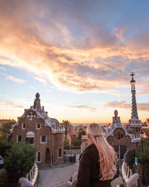 Sunrise is the best time to go to Park Guell plus you get free entry