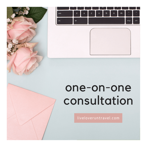 One on one consultation for blogging, Instagram, or Pinterest