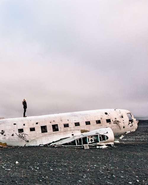 一个在北卡罗莱纳州的女人的飞机上
