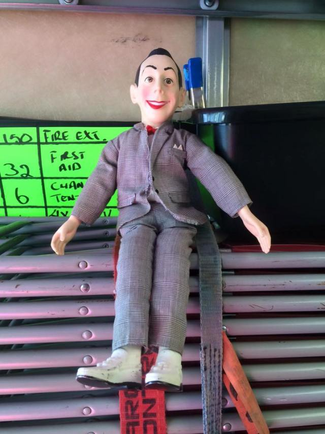 Peewee Herman Doll