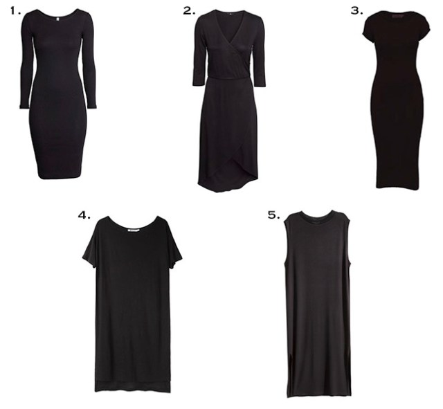 Black Dresses for fall