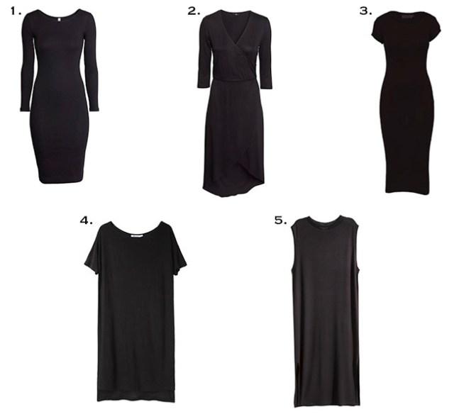 Black Dresses for fall