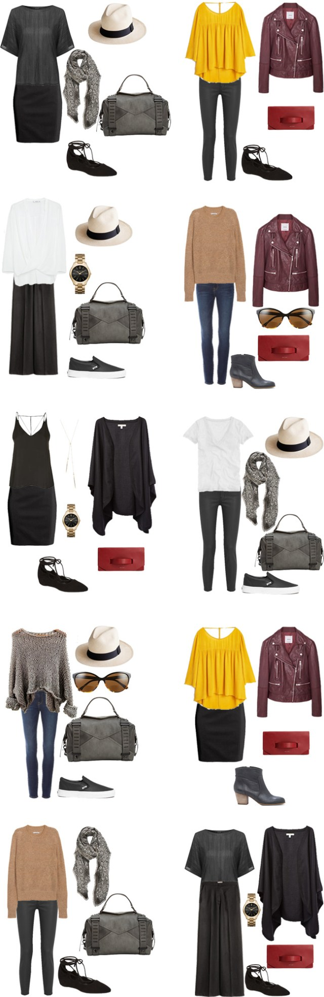 What to Wear in Paris, France Outfits 11-20 #packinglight #travellight #traveltips