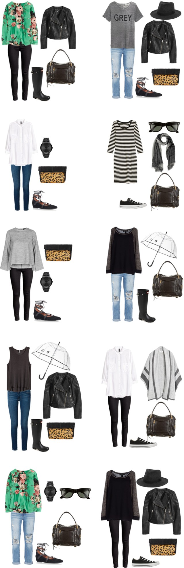 What to Wear in Dublin Outfit Options 11-20 #travellight #packinglight #traveltrips #packinglist #travel