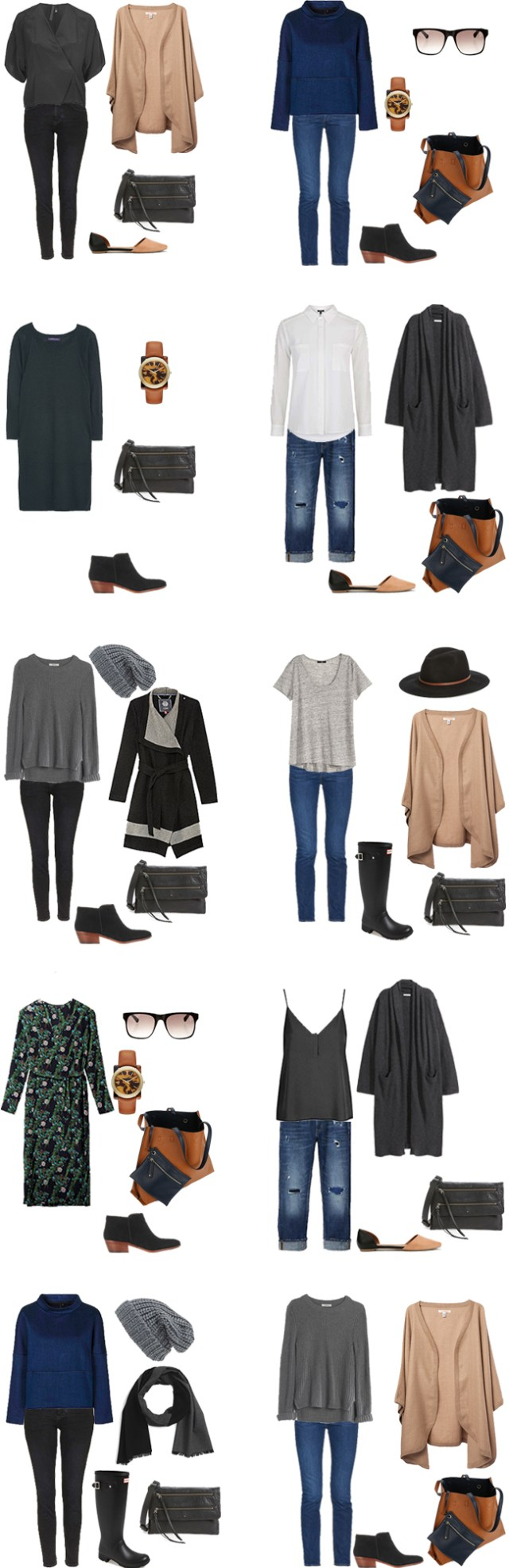 What to Wear in Italy and Switzerland Outfits 11-20 #travellight #packinglight #traveltips #travel