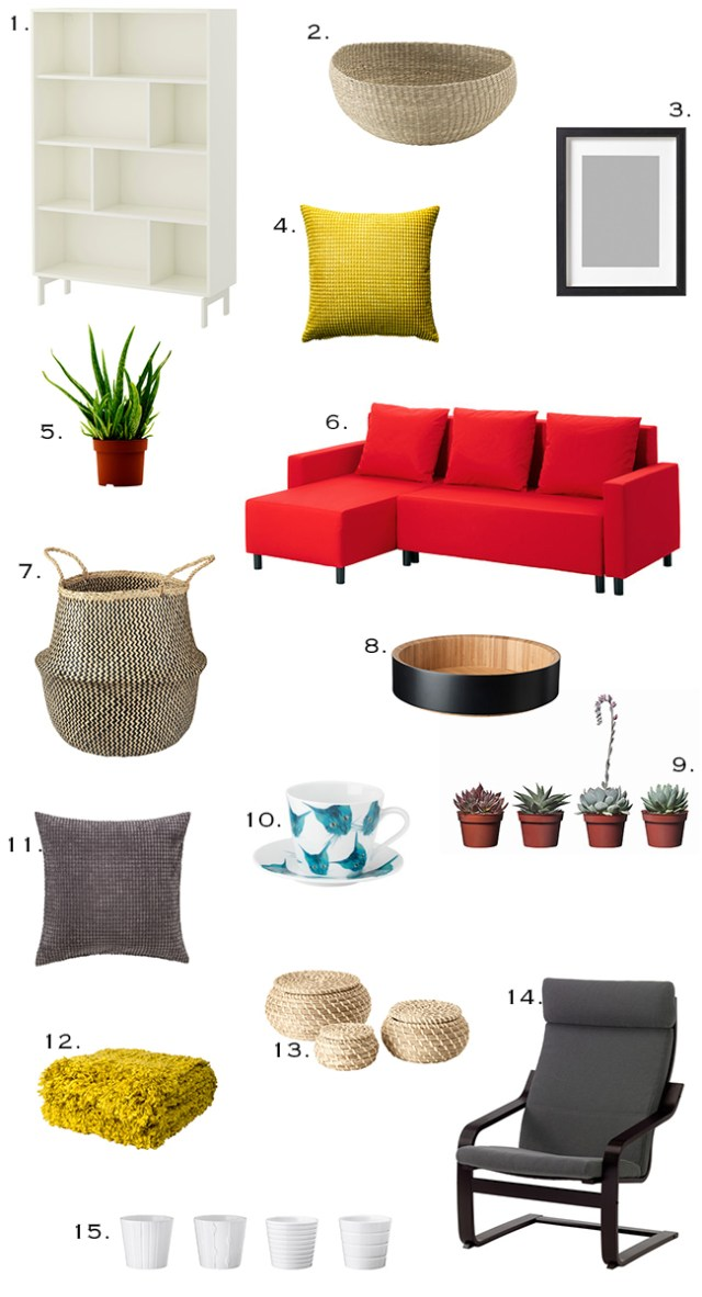 Ikea Spring Refresher #ikea