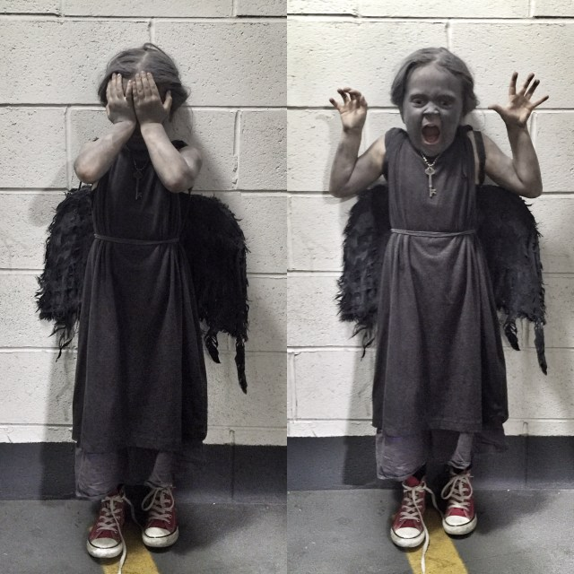 Kids Weeping Angel Costume
