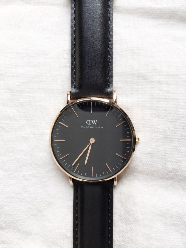 Sheffield watch Classic Black in Rose Gold by Daniel Wellington #dwforeveryone #danielwellington