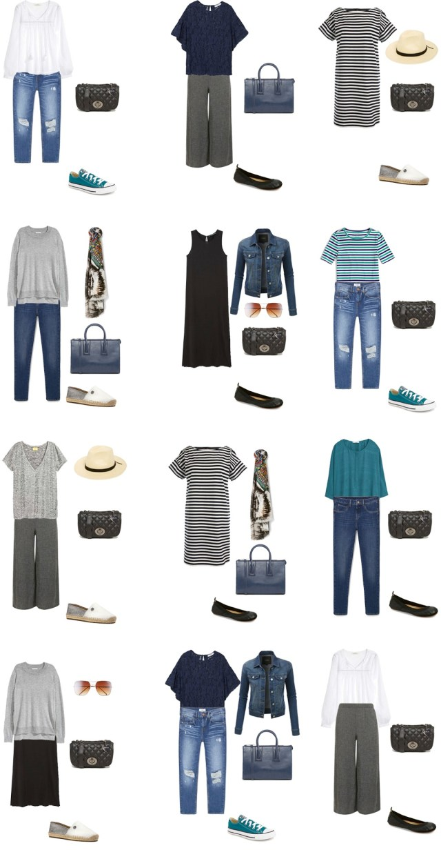 What to Wear in Phoenix Arizona Outfit Options 1-12 #packinglight #travellight #travel #traveltips #livelovesara