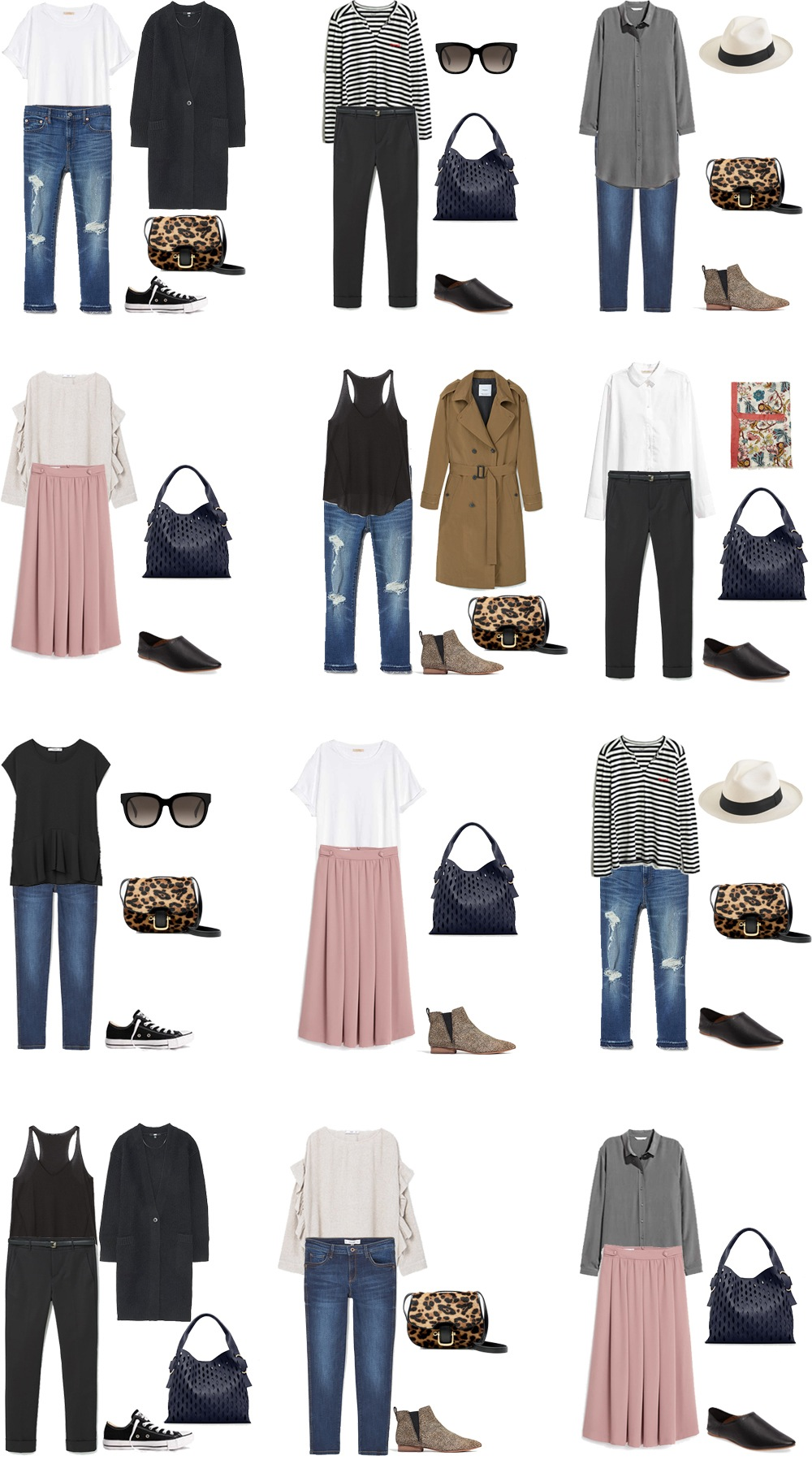 What To Wear In Central Europe Outfit Options 1 10 #packinglight  #travellight #