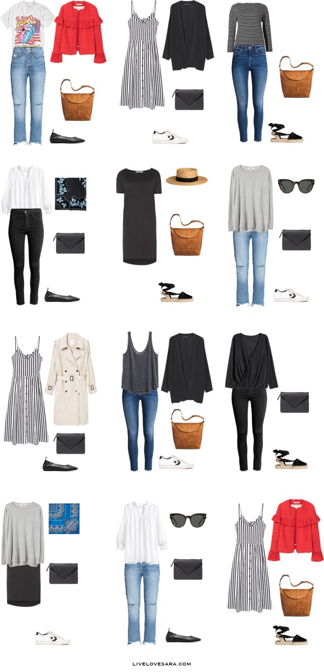 What to Wear in Stockholm Sweden Outfit Options 1-12 Packing Light List #packinglist #packinglight #travellight #travel #livelovesara