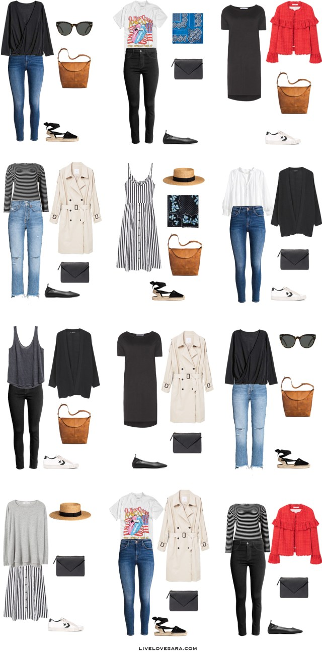 What to Wear in Stockholm Sweden Outfit Options 13-24 Packing Light List #packinglist #packinglight #travellight #travel #livelovesara