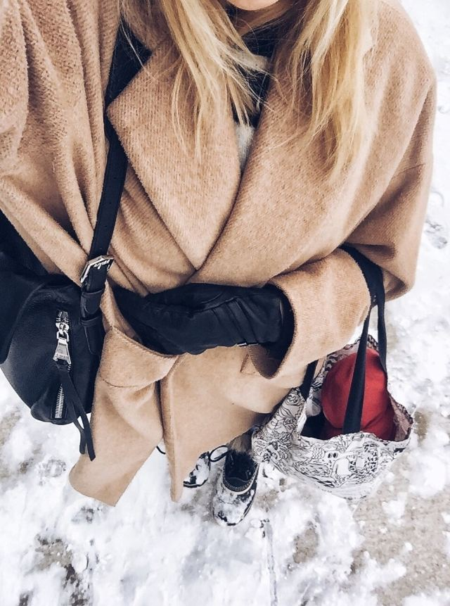 Oversized jacket, Joan of Arctic Sorels, winter fashion