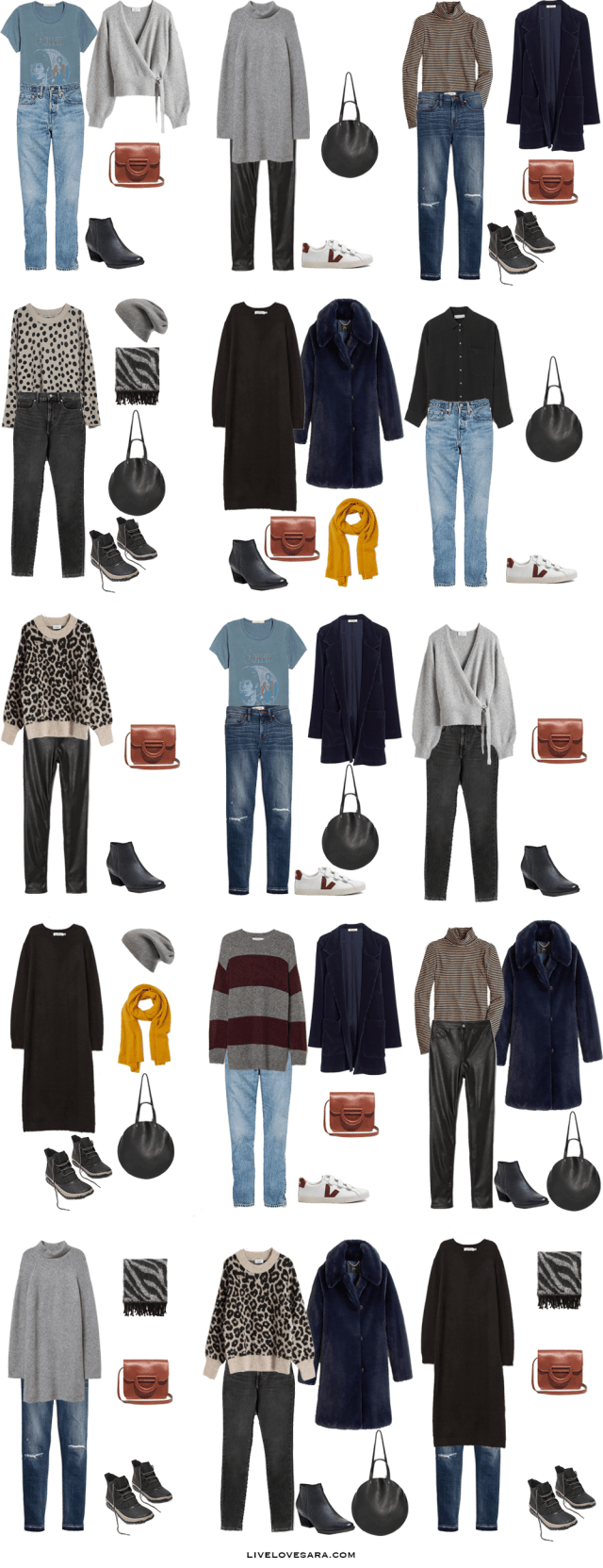 If you are wondering what to pack for a month vacation to Europe at Christmas, you can see some outfit ideas here. What to Pack for Europe Packing Light List | What to pack for the Christmas | What to Pack for Europe at Christmas | What to Pack for winter | Packing Light | Packing List | Travel Light | Travel Wardrobe | Travel Capsule | Capsule | Christmas | Europe