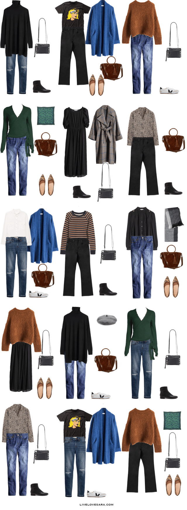 This week I am fast forwarding to spring with a 10 day packing list to Glasgow, Scotland. You can see some outfit ideas here. What to Pack for Glasgow Packing Light List | What to pack for Glasgow | What to Pack for Scotland | What to Pack for Autumn Winter and Spring | Packing Light | Packing List | Travel Light | Travel Wardrobe | Travel Capsule | Capsule | Paris | Pack for vacation | #traveltips #travellight #packinglight #travelwardrobe #travel #packinglist #travelcapsule #capsulewardrobe