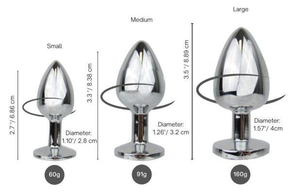 3 plug walk toys showing measurements