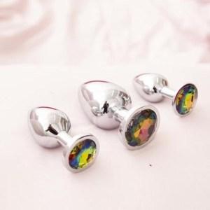 3 plug walk toys with multicolor gems