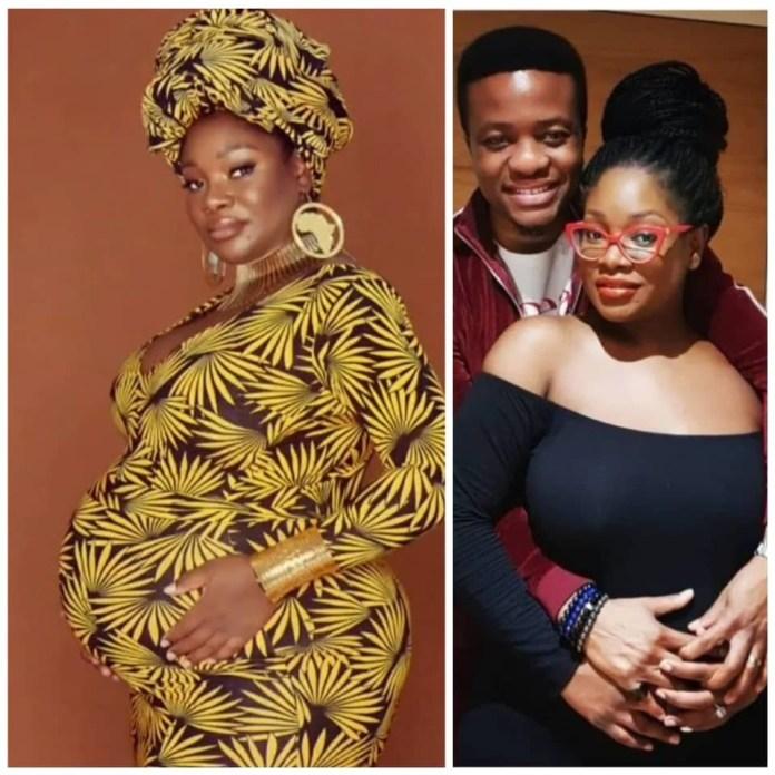 OAP Toolz, & Husband, Captain Tunde Demuren Exxpecting Second  Child-A Boy