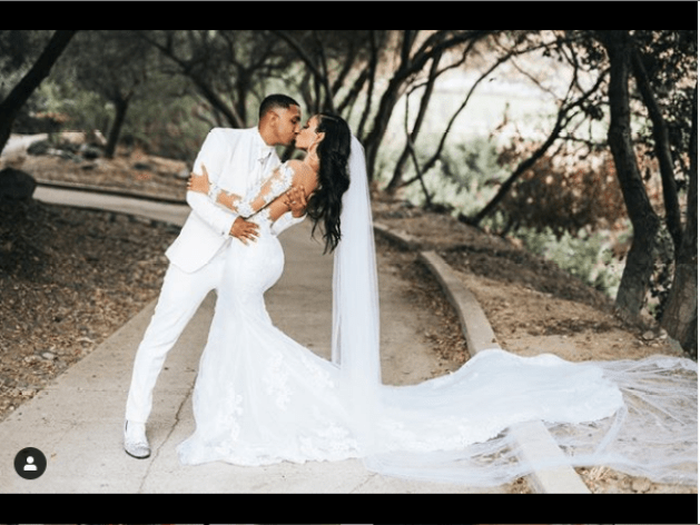 Fans react as singer Marques Houston, 39, marries 19-year-old girl (Photos)