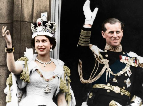 Why is the Queen's husband Philip a prince and not a king?