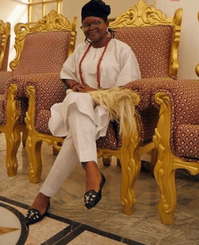 I'm not allowed to have a boyfriend and I have to be celibate throughout my reign — Regent of Iboropa, Tinuade Babalola