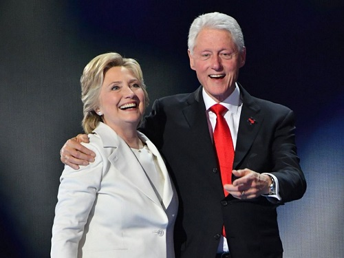 Bill and Hillary Clinton Celebrate Their 45th Wedding Anniversary: 'Never a Dull Moment'