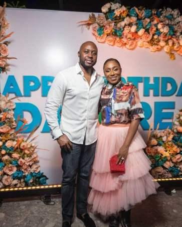 Nollywood Actress Dakore Egbuson-Akande Celebrates 42nd Birthday Bash (Pictures)