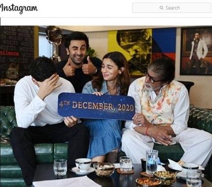 Bollywood actors,Ranbir Kapoor-Alia Bhatt to get married in December 2020